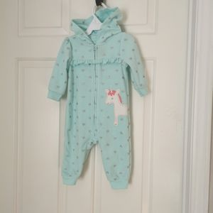 2/$20 Child of mine by Carter's girls jumpsuit size 3-6 m